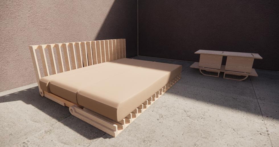 Invisible Furniture enscape screenshot 1