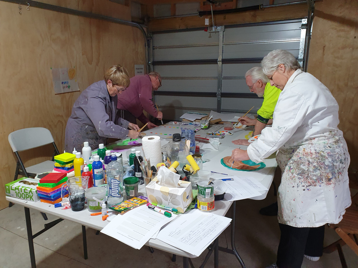 Creative Therapy workshop
