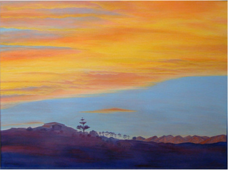 sunset sky at near Castlepoint.JPG