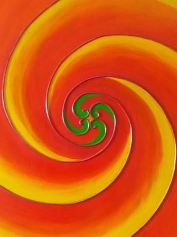 Fibonacci Swirl