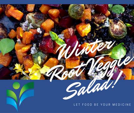 Winter Root Veggie Salad