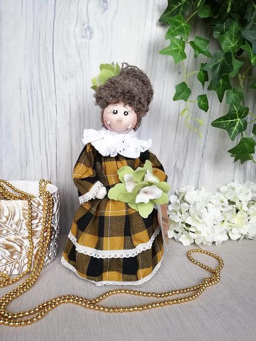 Păpuşă handmade cu lavandă 30 cm