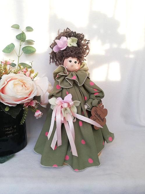 Păpuşă Spring cu lavandă 30 cm
