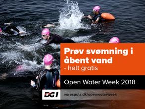 Open Water Week i Aarhus 1900 TRI