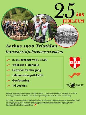 25 års jubilæum i Aarhus 1900 Triathlon