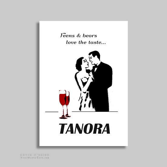Feens & Beors Love the Taste (Print)