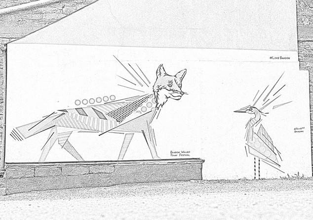 Fox & Heron