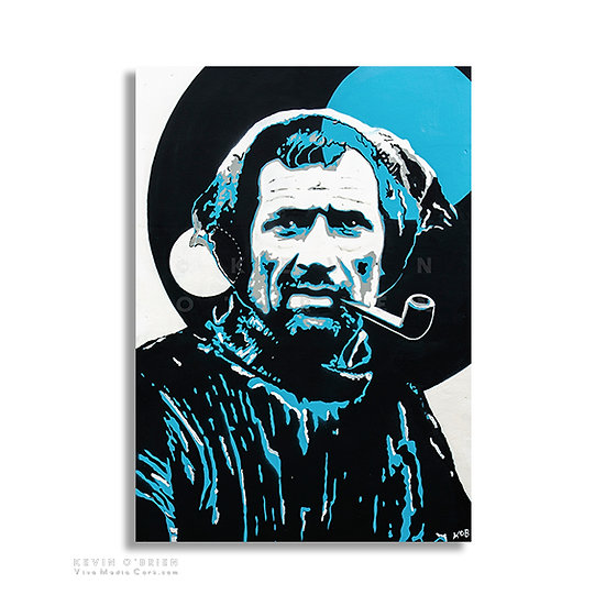 Portrait of Tom Crean - (Print)