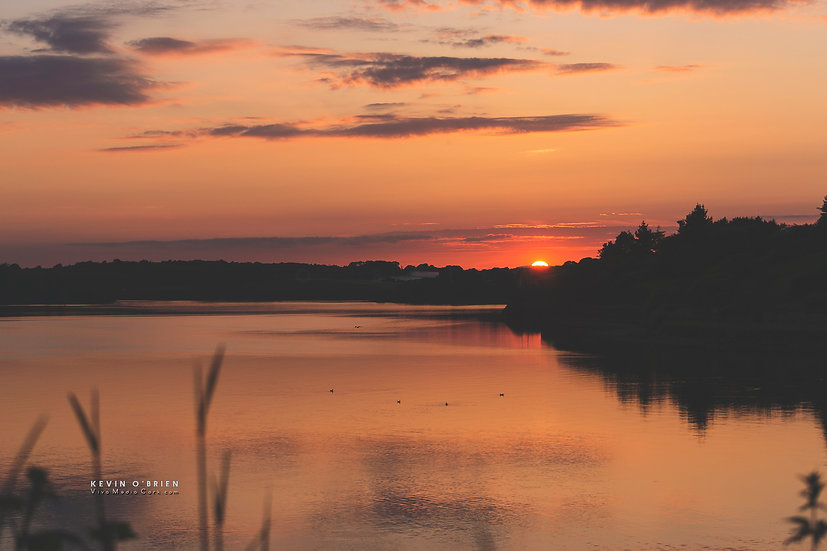 Sunset over the Bandon River at Kinsale