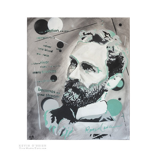 """A nation is a very complex thing..."" - Roger Casement - (Print)"