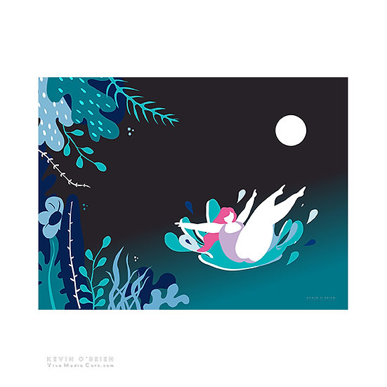 Nightswimming (Print)