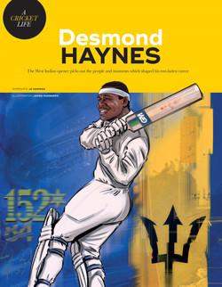 Desmond Haynes Wisden