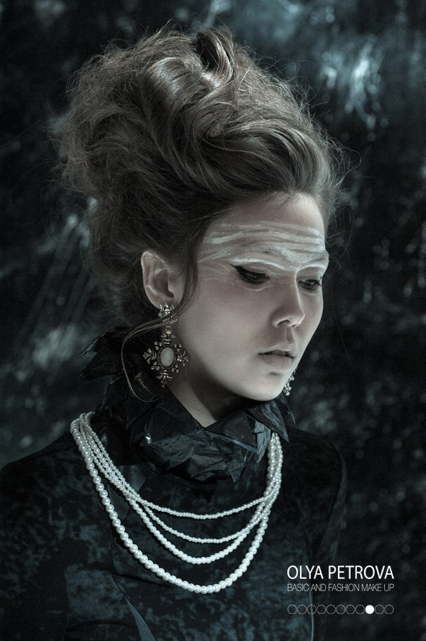 PRODUCER_ OLYA PETROVA PHOTO_ EDUARD POTEMKIN STYLE_ ALENA KOSTYAGINA MODELS_ LMA and AFM  HAIR_ FAS