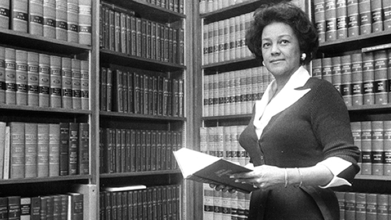 First African American Woman to Argue a Case in the U.S. Supreme Court