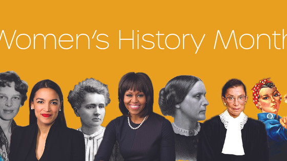 March, Women's History Month