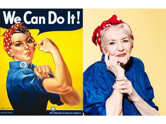 Naomi Parker Fraley, the Real-Life Rosie the Riveter, Dies at 96