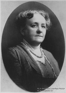 Mary Wright Plummer, Author, Librarian and President of ALA