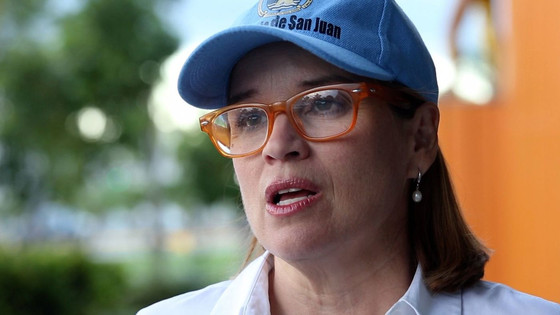 Trump says no statehood for Puerto Rico as long as San Juan mayor is in office.