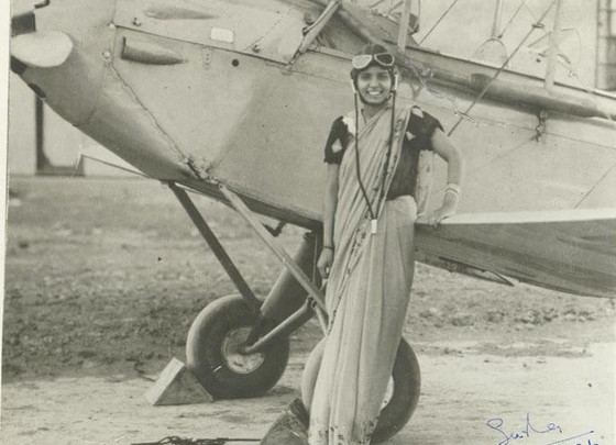 First Woman Pilot in India