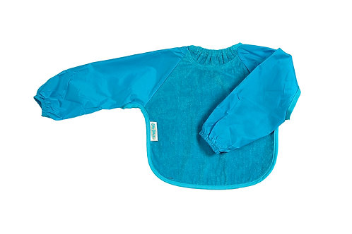 Silly Billyz lange mouw slab Snuggly Towel - Aqua