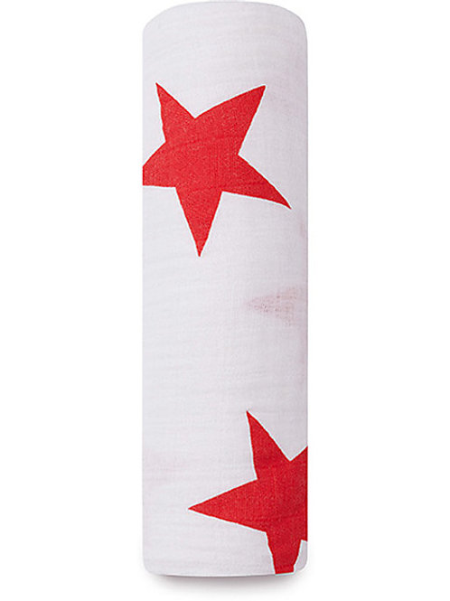 aden + anais single swaddle - Red star