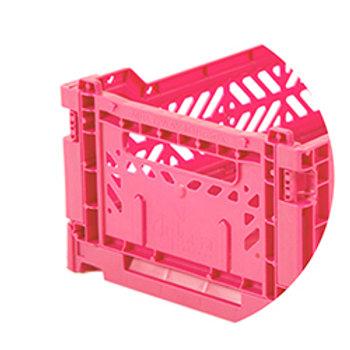 Ay-kasa vouwkratje mini - Hot pink