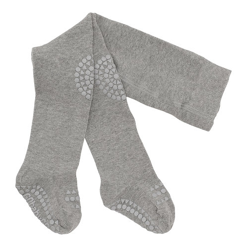 GOBABYGO Maillot 3-4 jaar, anti slip pads - Light grey melange
