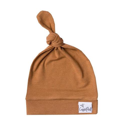 Copper Pearl Jersey mutsje - Camel