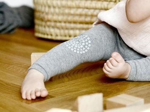 GOBABYGO Legging anti slip pads - Grey melange *sample