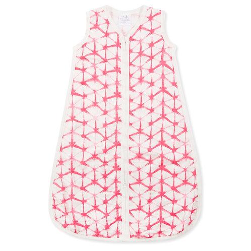 aden + anais Silky Soft Sleeping bag - Berry Shibori