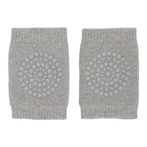 GOBABYGO anti slip kneepads - Grey melange *sample