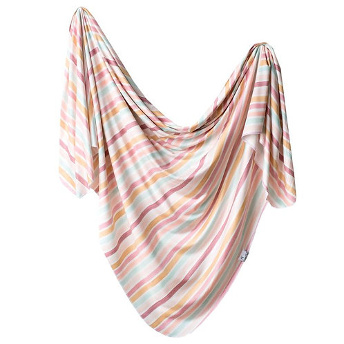Copper Pearl Jersey swaddle - Belle