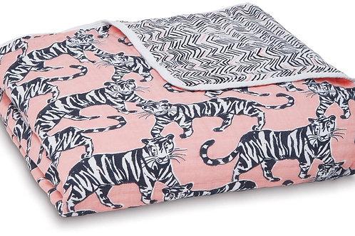 Dream deken katoenen muslin - Pacific Paradise 1.20 x 1.20