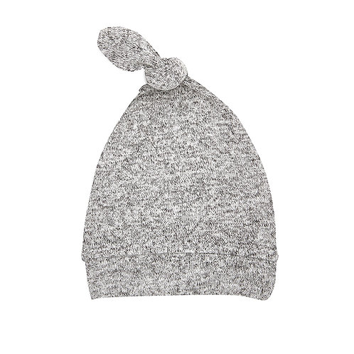 aden + anais Snuggle knit mutsje - Heather grey