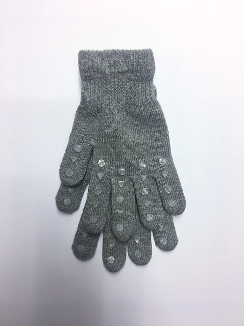 Kopie van Go Baby Go anti slip Gripgloves - Light grey melange *sample