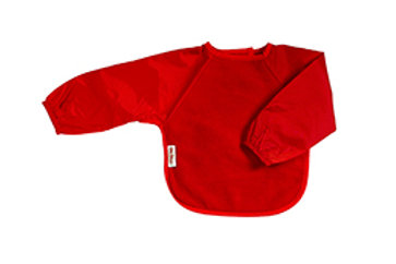 Silly Billyz lange mouw slab Fleece large - Rood
