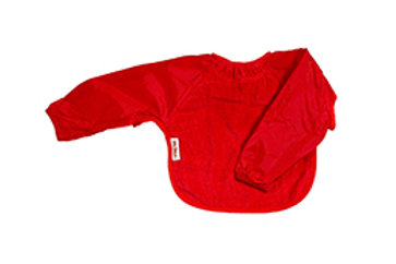 Silly Billyz lange mouw slab Snuggly Towel - Rood