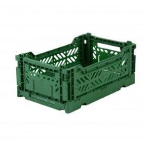 Ay-kasa vouwkratje mini - Dark green