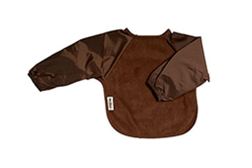 Silly Billyz lange mouw slab Fleece small - Chocolat