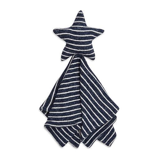 aden + anais Snuggle lovey  - Marine stripe