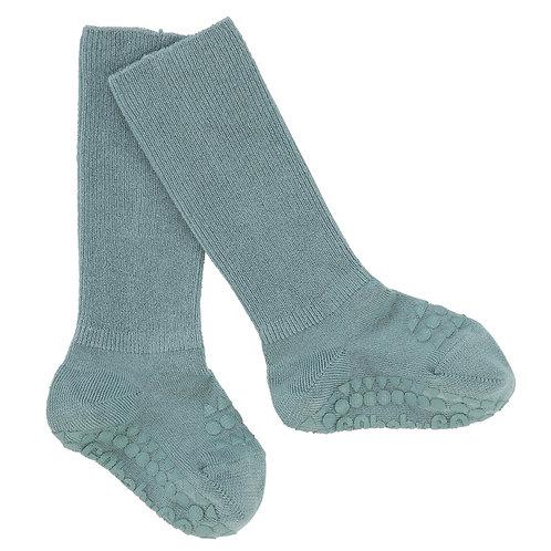 GOBABYGO bamboe sokjes anti slip pads - Dusty blue *sample