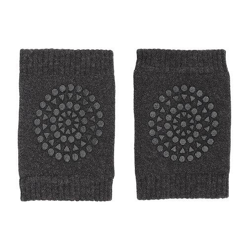 GOBABYGO anti slip kneepads - Dark grey melange *sample