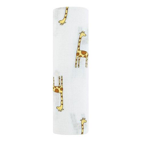 aden + anais single swaddle - Jungle Jam Giraffe