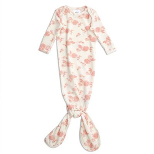 aden + anais Snuggle knit knotted gown  - Rosette