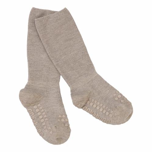 GOBABYGO bamboe sokjes anti slip pads - Sand *sample