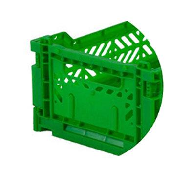 Ay-kasa vouwkratje mini - Green
