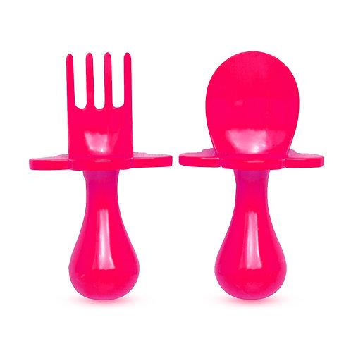 Grabease oefen bestekje - Pink