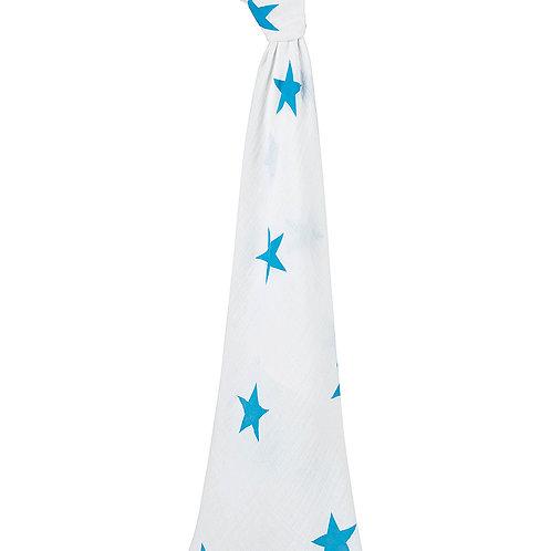 aden + anais single swaddle - Bleu star