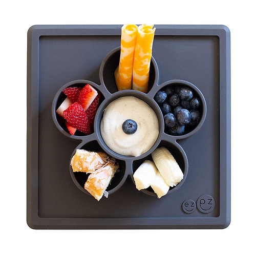 EZPZ Play-snack Mat - Slate