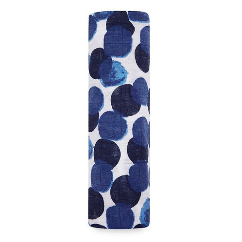 aden + anais single swaddle - Seafearing dots